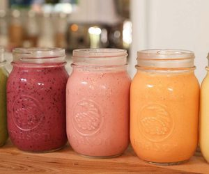 smoothie, drink, and healthy image