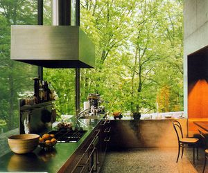 nature and kitchen image