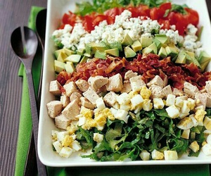 dinner, healthy, and fit image