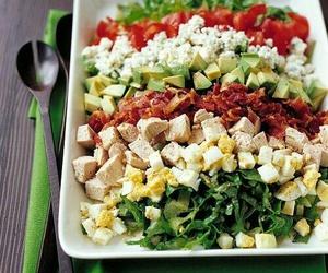 dinner, health, and veggie image