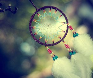dreamcatcher, Dream, and feathers image