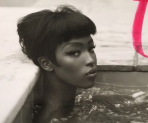 model, Naomi Campbell, and vogue image