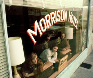 the doors, morrison hotel, and Jim Morrison image