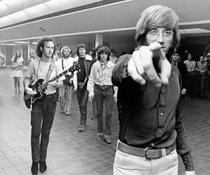 Jim Morrison, John Densmore, and Ray Manzarek image