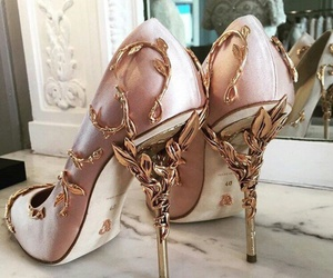 fashion, heels, and girly image