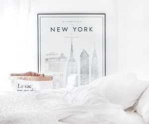 white, new york, and home image