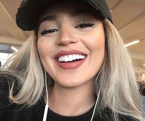 girl, makeup, and smile image