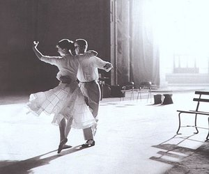 blackandwhite, dance, and fred astaire image