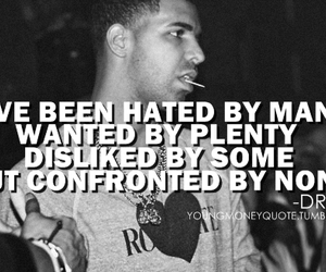 boy, Drake, and haters image