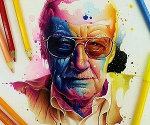Marvel, comic, and stan lee image