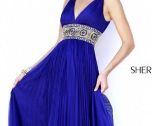 sherri hill 11189 and purple prom dress long image