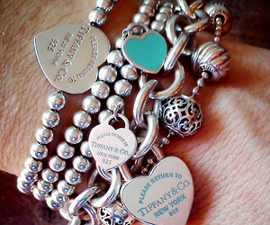 heart, jewels, and lock image