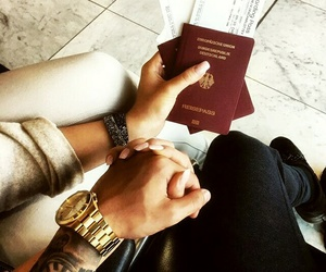 travel and passeport image