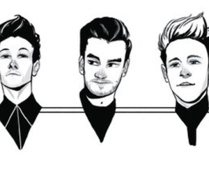 liam payne, harry style, and niall horan image