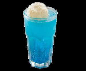 blue, ice cream, and soda image