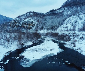 Serbia and winter image