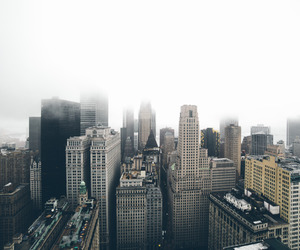 adventure, buildings, and fog image