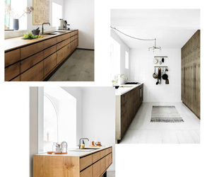 kitchen, modern, and nordic image