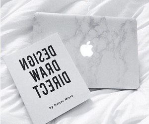 apple, marble, and book image