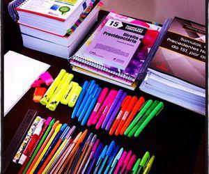 marker, pencils, and school image