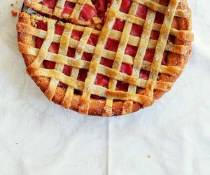 delicious, recipe, and rhubarb image