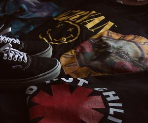 nirvana, vans, and Guns N Roses image