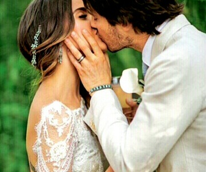wedding, nikki reed, and ian somerhalder image
