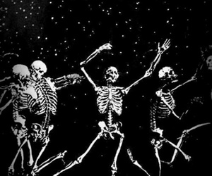 dark, dance, and moon image
