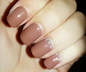 brown, crystals, and nails image