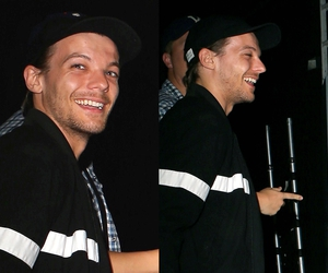 night club, 1d, and louis tomlinson image