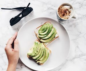 food, avocado, and healthy image