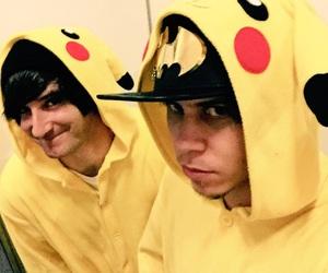 luzu, rubius, and pikachu image