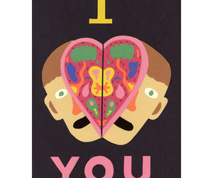 head, split, and I Love You image