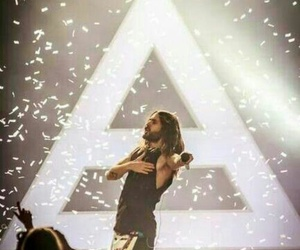 jared leto, thirty seconds to mars, and 30 seconds to mars image