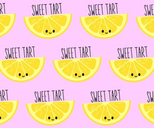background, lemon, and pattern image