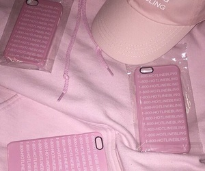 pink, hat, and pastel image