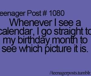 teenager post, funny, and birthday image