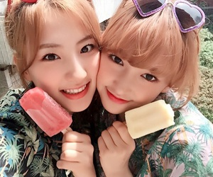 eunseo, chengxiao, and cosmic girls image