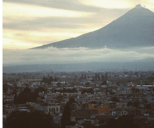 clouds, peace, and puebla image