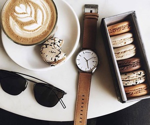 coffee, food, and watch image