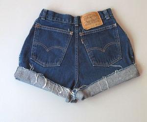 cut offs, denim shorts, and ebay image
