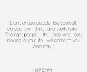 be yourself, people, and quote image