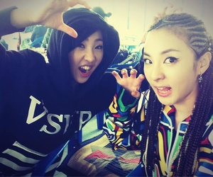 2ne1, dara, and minzy image