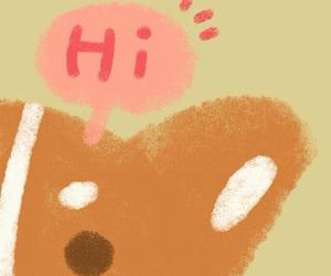 hi, wallpapers, and dog image