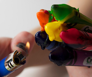 crayon and colors image