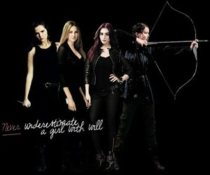 clary fray, lily collins, and zoey deutch image