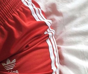 adidas, red, and aesthetic image