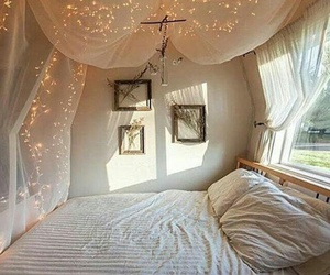 bed, interior, and nice image
