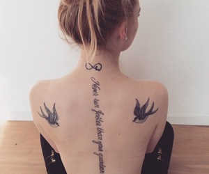 angel, guardian, and tattoo image