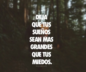 Dream, miedo, and frases image